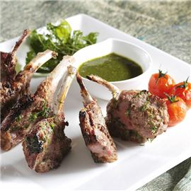 Enjoy authentic Indian cuisine with a Kenyan twist - Tandoori Lamb Chops